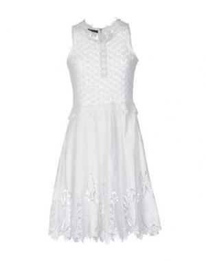 Короткое платье SLY010. Цвет: белый