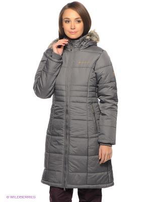 Пальто Alpine PRO. Цвет: серый