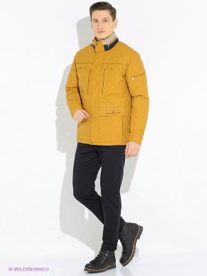 Куртки Scanndi. Цвет: горчичный