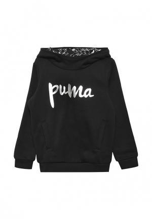 Худи Puma. Цвет: черный