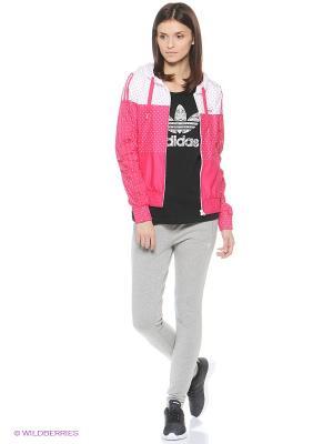 Брюки SLIM TP FT Adidas. Цвет: серый