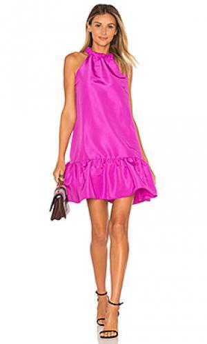 Платье luna Paper London. Цвет: розовый