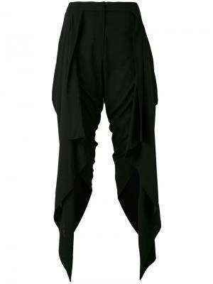Draped panel trousers Gareth Pugh. Цвет: none