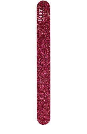 Пилка для ногтей темно-розовая Kure Bazaar. Цвет: бесцветный