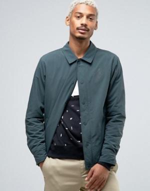 Nike SB Зеленая спортивная куртка с логотипом 823588-364. Цвет: зеленый