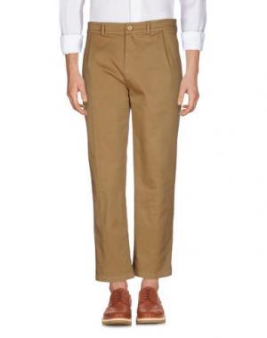 Повседневные брюки SOHO. Цвет: верблюжий