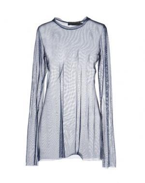 Блузка MARIA CALDERARA. Цвет: синий