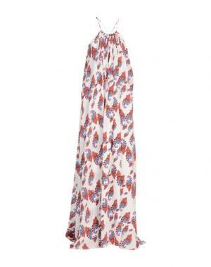 Длинное платье SLY010. Цвет: белый