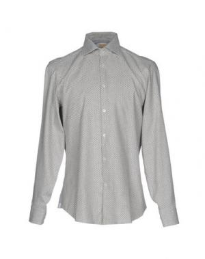 Pубашка MICHAEL COAL. Цвет: светло-серый