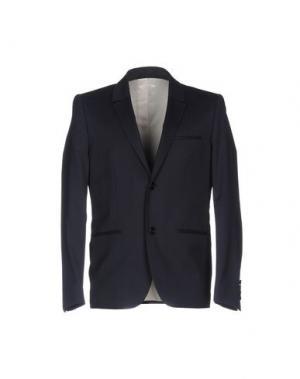 Пиджак WON HUNDRED. Цвет: темно-синий
