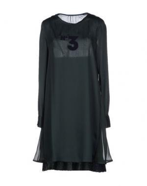 Короткое платье COAST WEBER & AHAUS. Цвет: темно-зеленый