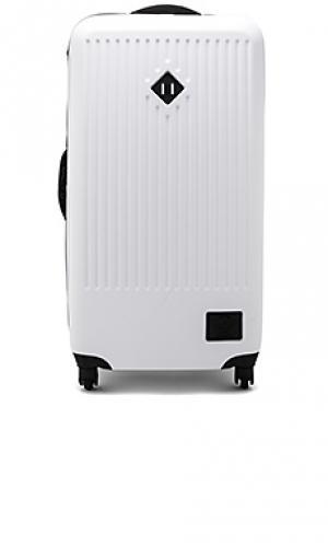 Жесткий чемодан trade Herschel Supply Co.. Цвет: белый