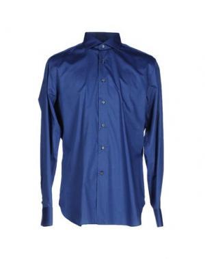 Pубашка ALESSANDRO GHERARDI. Цвет: ярко-синий