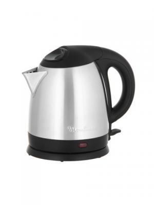 Чайник Moulinex BY430DRU 1.5л. 1500Вт серебристый/черный (металл). Цвет: серебристый