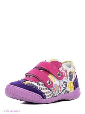 Ботинки ELEGAMI. Цвет: фиолетовый
