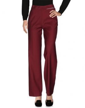 Повседневные брюки EACH X OTHER. Цвет: красно-коричневый