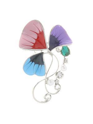 Брошь Infiniti. Цвет: голубой, серебристый, сиреневый, розовый, бирюзовый