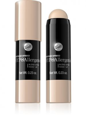 Bell Hypoallergenic флюид интенсивно скрывающий недостатки Blend Stick Make-up Тон 02. Цвет: бледно-розовый