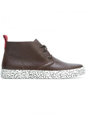 Хай-топы Alto Chukka Del Toro Shoes. Цвет: коричневый