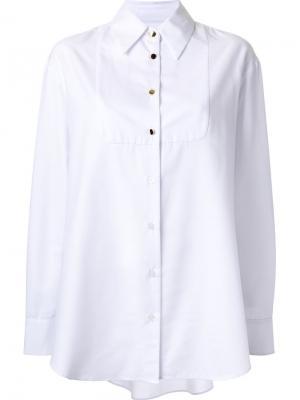 Классическая рубашка Macgraw. Цвет: белый