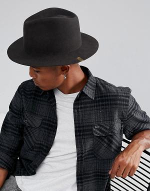 Brixton Мягкая фетровая шляпа. Цвет: черный