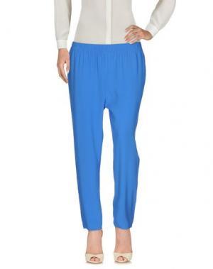 Повседневные брюки NAUGHTY DOG. Цвет: синий