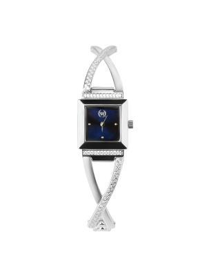Часы ювелирные коллекция Q-Chic, QWILL, Часовой завод Ника QWILL. Цвет: индиго