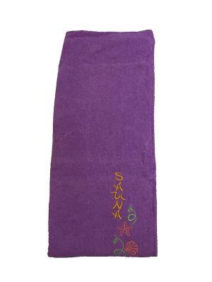 Юбка для сауны A and C Collection. Цвет: фиолетовый