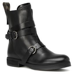 Ботинки  JN27061 черный JIL SANDER NAVY