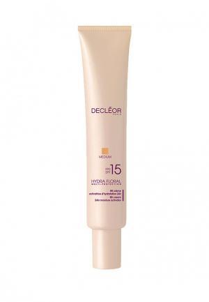 Увлажняющий BB-крем SPF 15  для лица 40 мл. Decleor. Цвет: бежевый