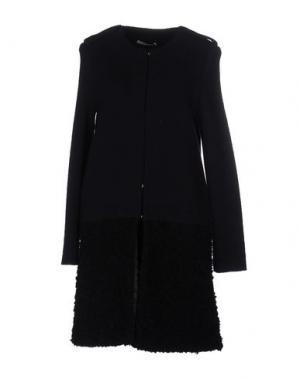 Легкое пальто BP STUDIO. Цвет: темно-синий