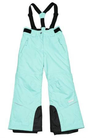 Прямые брюки с утеплителем Icepeak. Цвет: 522 светло-зеленый