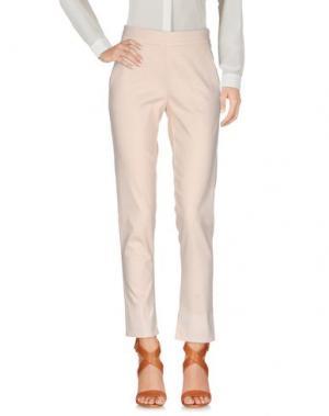 Повседневные брюки IVORIES. Цвет: бежевый