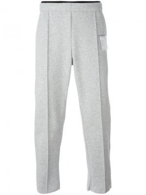 Спортивные брюки Post-run Satisfy. Цвет: серый