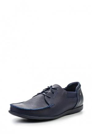 Мокасины Giatoma Niccoli. Цвет: синий