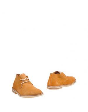 Полусапоги и высокие ботинки b FERDY MILANO. Цвет: желто-коричневый