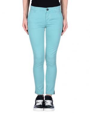 Повседневные брюки LEON & HARPER. Цвет: бирюзовый