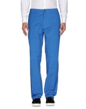 Повседневные брюки RICHARD JAMES. Цвет: синий