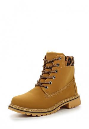 Ботинки Queen Vivi. Цвет: коричневый