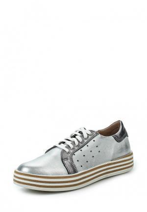 Ботинки Simen. Цвет: серебряный