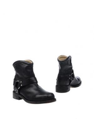 Полусапоги и высокие ботинки MR. WOLF. Цвет: стальной серый