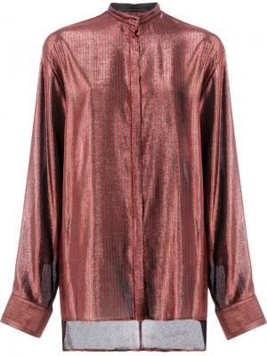 Striped shirt Haider Ackermann. Цвет: красный