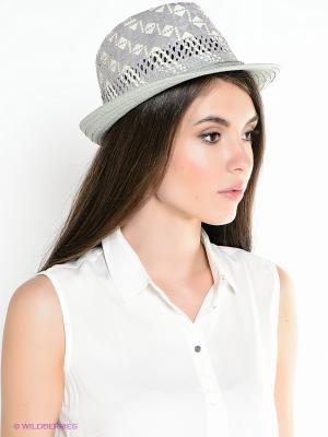Шляпа ESMEE. Цвет: серый