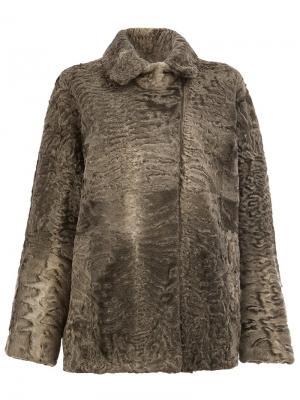 Двусторонняя куртка 32 Paradis Sprung Frères. Цвет: серый
