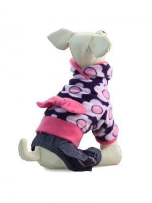 Костюм  для животных (демисезонный) TRIOL. Цвет: розовый