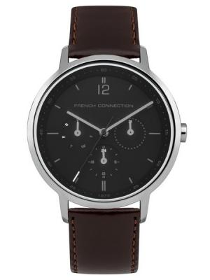 Часы FRENCH CONNECTION. Цвет: темно-коричневый