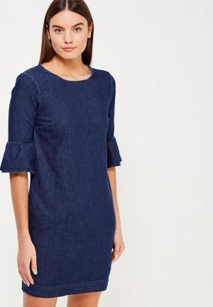 Платье джинсовое Miss Selfridge. Цвет: синий