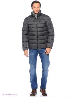 Куртка Grishko. Цвет: серый