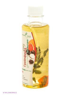 Масло жидкое для лица Лечебный джаз грейпфрута с  каштаном, 200 мл АРОМАДЖАЗ. Цвет: светло-желтый