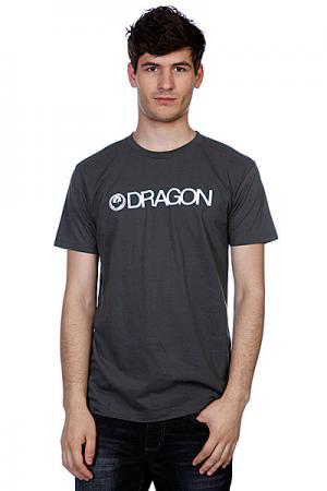 Футболка  Trademark F12 Charcoal Dragon. Цвет: серый